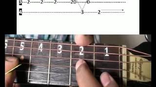 Om Shanthi Om theme Music Guitar lesson