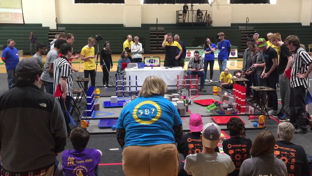 High Tech Challenge Ravenscroft S Upper School Robotics Club Youtube