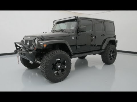 2012 jeep wrangler unlimited freedom edition custom