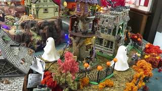 Download lagu HTOS Memorial City Mall Model Trains Halloween Exhibit 2019