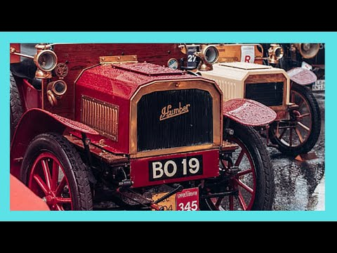 The Antique Car roadshow, REGENT STREET, LONDON