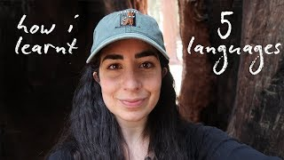 How I learned 5 languages // with subtitles!