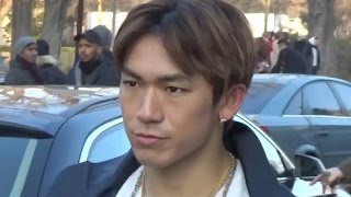 NAOTO J Soul Brothers from Exile Tribe 三代目 @ Paris Fashion Week ...