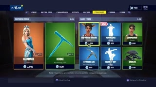 Codename Elf Returns!! Item Shop Fortnite !! 27th Of December