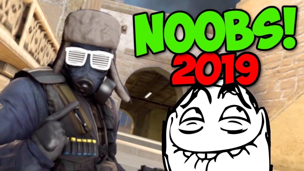 NAJGORSI GRACZE CS:GO 2019! - FUNNY MOMENTS