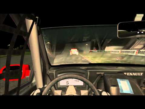 renault clio rfactor 2 24 hour race effect palm beach
