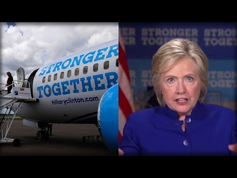 HILLARY FURIOUS… LEARNS STAFF CELEBRATED, POPPED CHAMPAGNE ON CAMPAIGN PLANE AS SHE LOST RACE