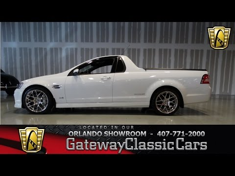 2012 Holden UTE Gateway Classic Cars Orlando