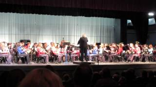 Shelby County (AL) All-County Honor Band performs Strauss