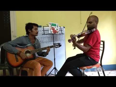 Sanam Re on Violin & Guitar by Apratim Nayak - Avijit Roy