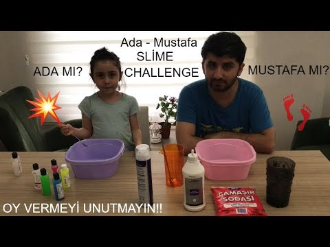Ada-Mustafa Slime Challenge!!