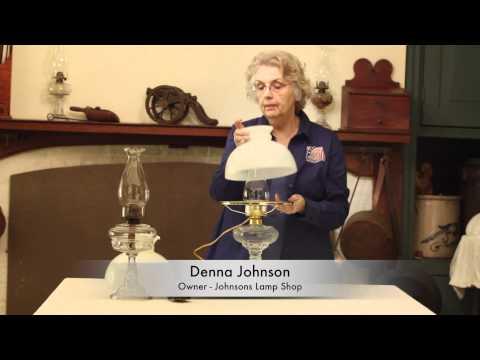 Johnsons Lamp Shop No 2 Burner Lamp Glass
