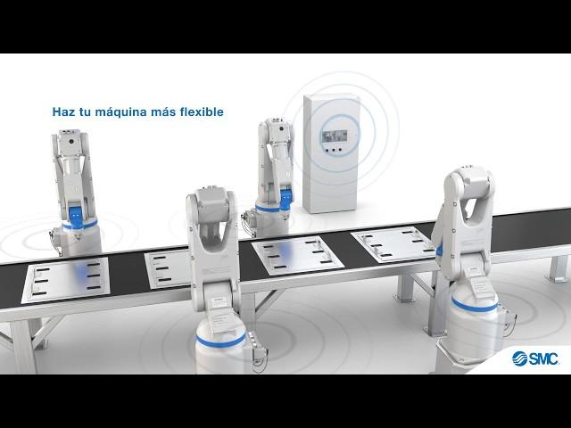 SMC -- Sistema wireless de comunicación industrial. Serie EX600-W