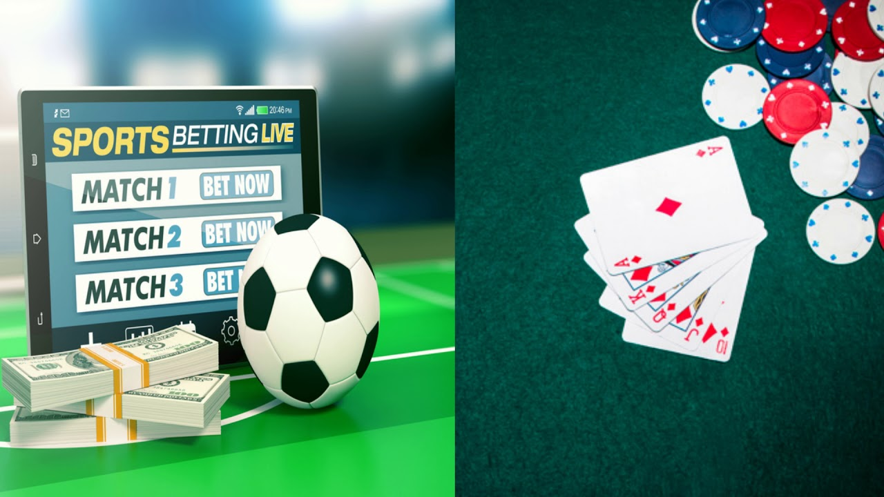 Poker vs sports betting win money with bitcoins