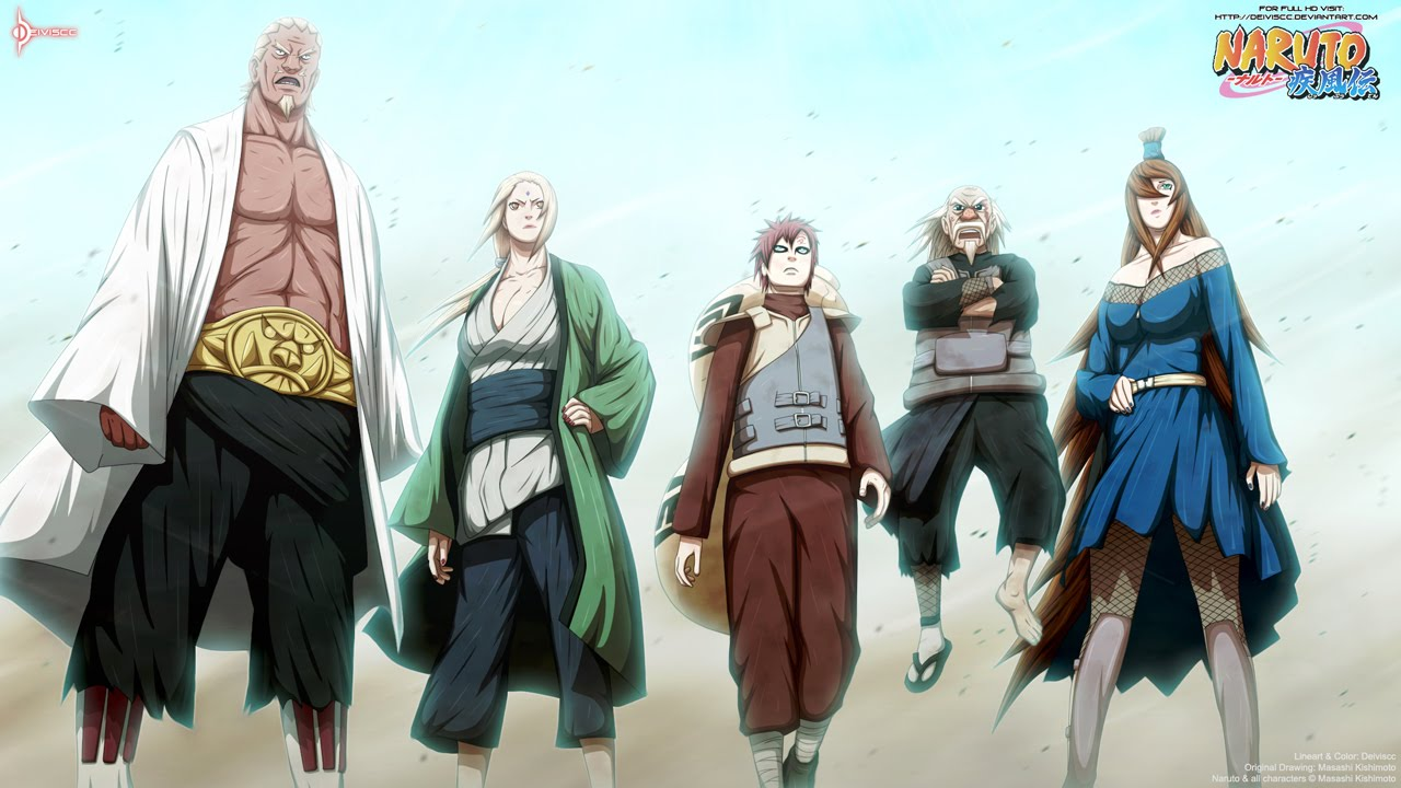 Top 20 Strongest Naruto Kages - YouTube