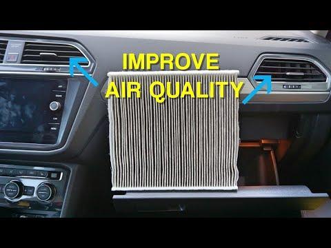 How to Replace Cabin Air Filter 2018+ VW Tiguan MQB (3rd Gen)