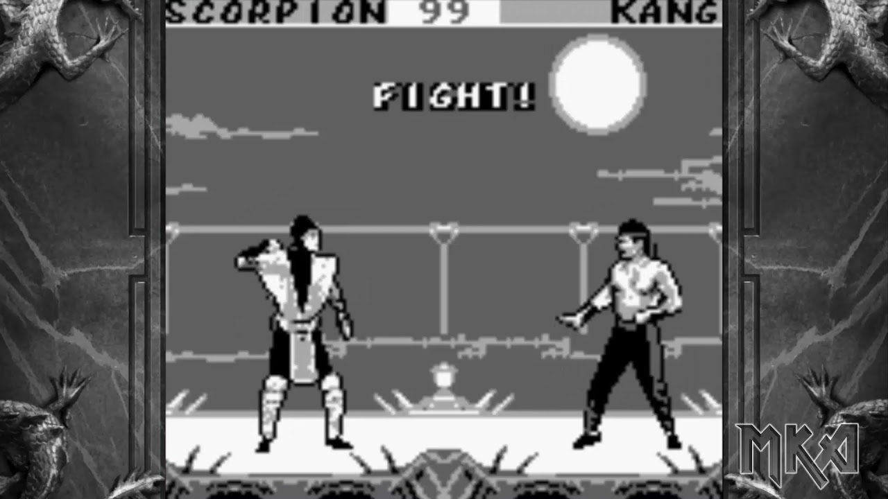 Mortal kombat 2 game boy color rom automaton game 2