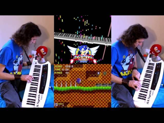Sonic the Hedgehog - Green Hill Zone Music - Keytar