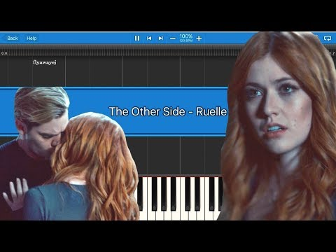 [Shadowhunters 2x14] The Other Side - Ruelle || Synthesia Piano Tutorial