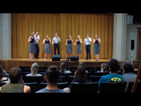 Hold On to the Rock - Geneva College's New Song