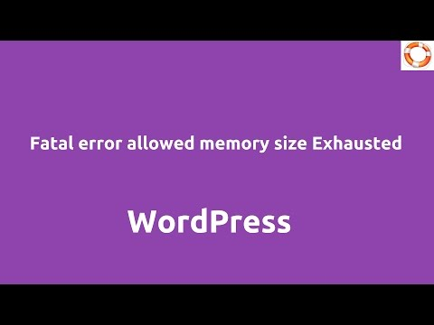 How to fix Fatal error: Allowed memory size of 41943040 bytes in ...