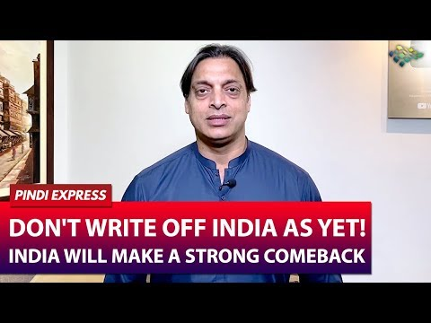 India Will Make A Strong Comeback Tomorrow | India vs New Zealand | Shoaib Akhtar