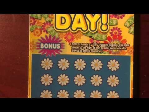 PA Lottery Mothers Day Lotto Ticket Scratcher