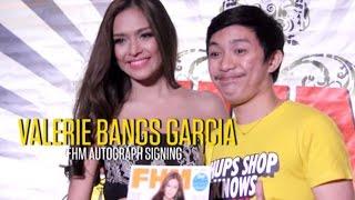 Valerie Bangs Garcia's FHM Autograph Signing