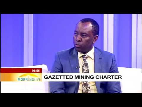 Mineral Resources Minister Mosebenzi Zwane  on gazetted mining charter