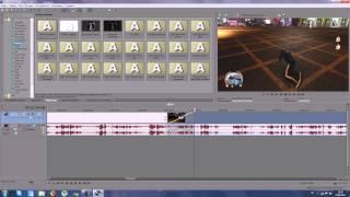 Sony Vegas Pro 11 Работа с эффектами