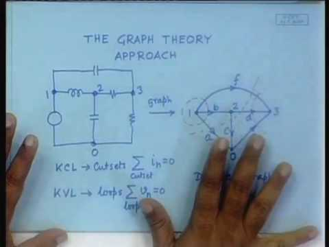 Lecture - 11 The Graph Theory Approach For Electrical Circuits Part-i