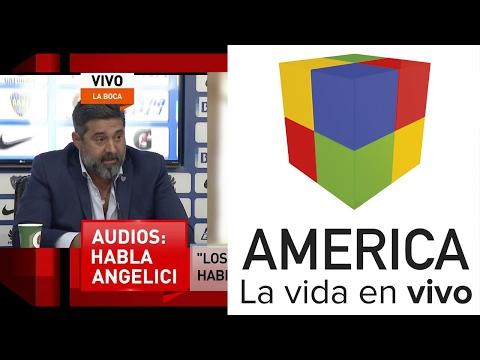 Angelici: Lo que hice está mal, pero es  algo habitual en el fútbol argentino