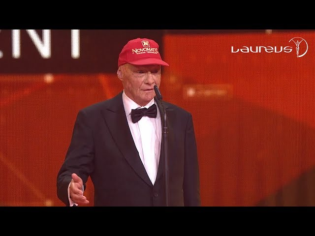 Niki Lauda's Acceptance Speech At The 2016 Laureus Awards