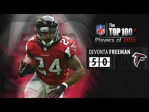 #50: Devonta Freeman (RB, Falcons) | Top 100 NFL Players of 2016