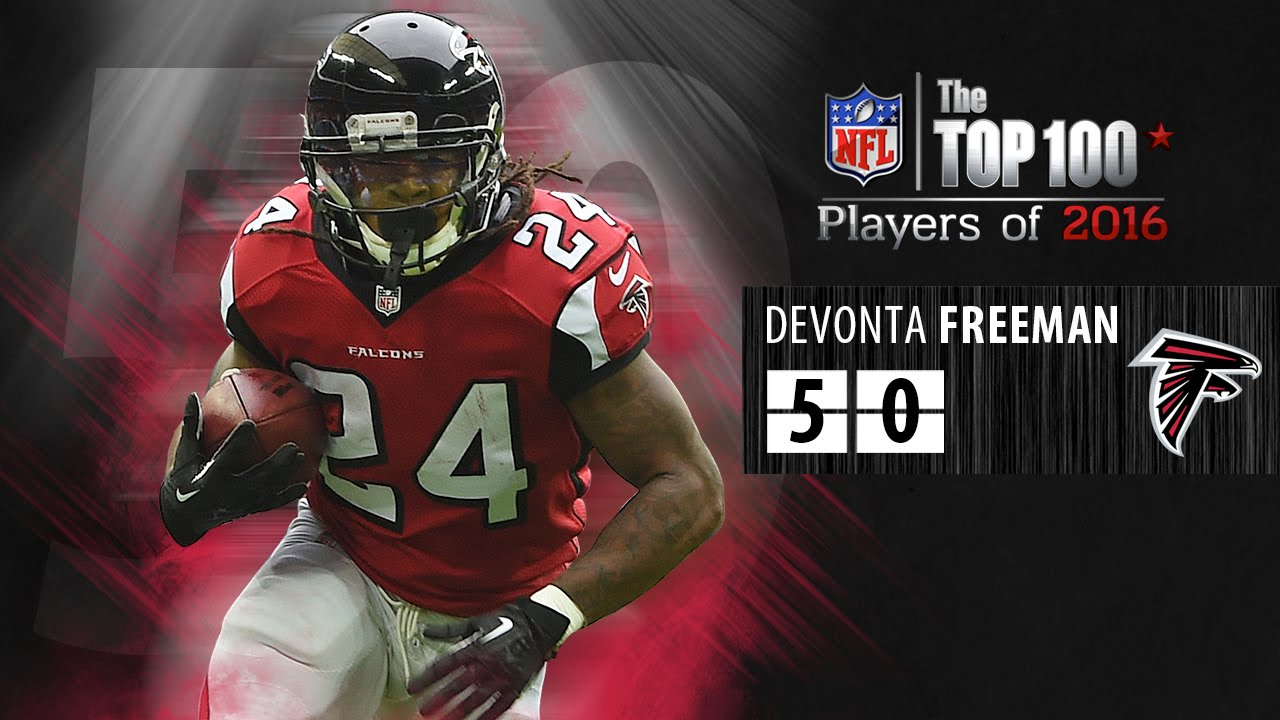 50 devonta freeman rb falcons top 100 nfl players of 2016