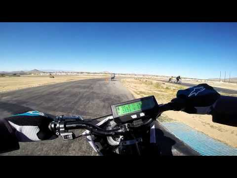 Electric Supermoto - Grange motor circuit