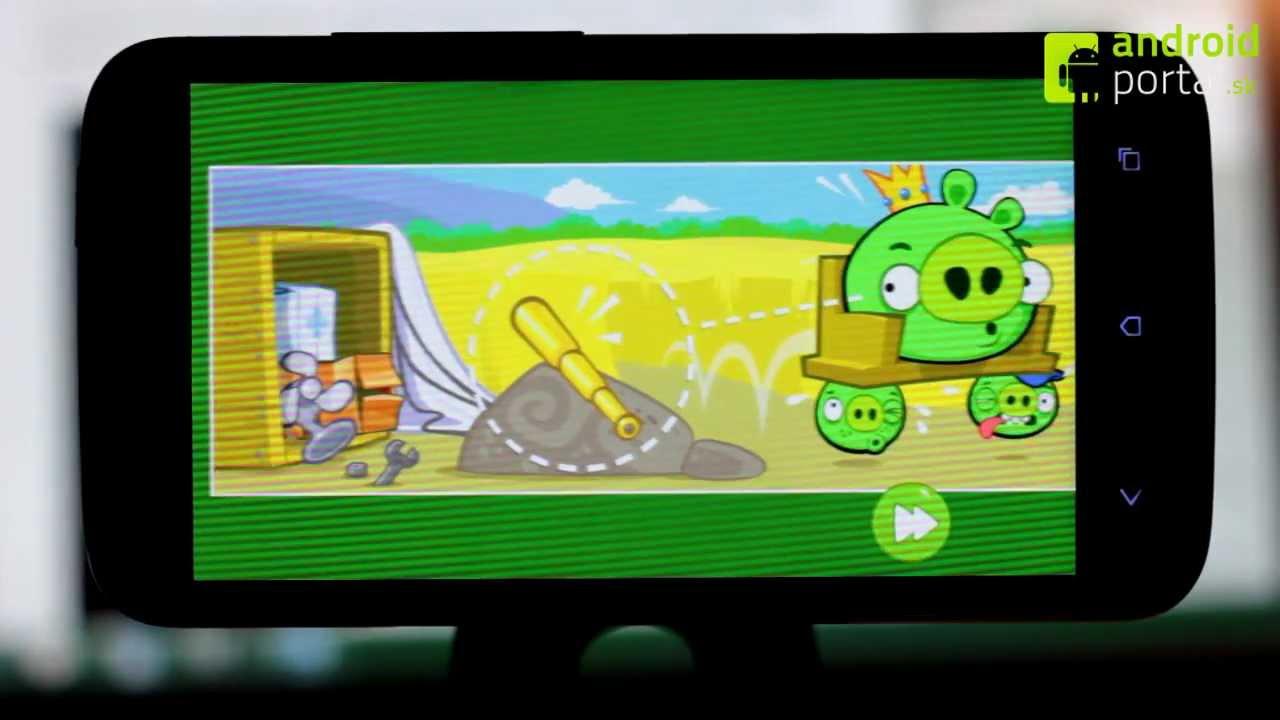 Androidportal android hra bad piggies - recenzia - androidportal.sk - youtube