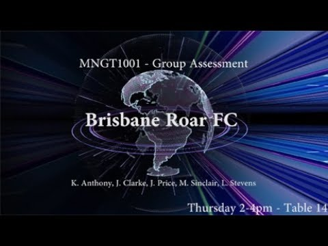 Table 14 - MNGT1001 - Brisbane Roar FC