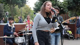THIS STREET JAM IS BETTER THAN A CONCERT   Counting Stars - OneRepublic   Allie Sherlock Cover