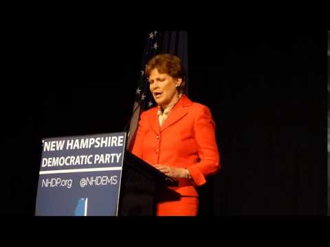 Jeanne Shaheen Speaks at 2014 NH Democratic Convention