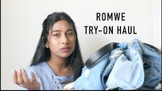 ALMOST $700 WORTH OF CLOTHES AT ROMWE?? Try-on Clothing Haul & Review