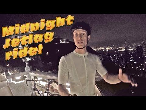 Hong Kong Island View At NIGHT! - #cycling