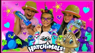 Search for the GOLDEN HATCHIMAL! Opening HATCHIMALCollEggtibles BLIND BAGS!!