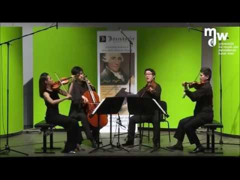Haydn string quartet in g minor, Op.74, No.3 'Rider' by Abel quartet