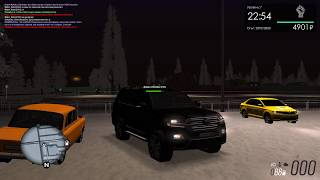 MTA Province beta 0.1.8  Сервер #1  Тест Драйв! Land Cruiser 200 restyling 2016!!!