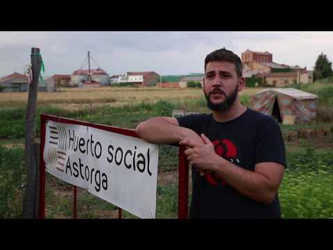 """""""Luchando contra el estigma en el Huerto Social Astorga"""" - ALFAEM Salud Mental León- IES Astorga"""