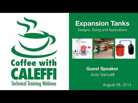 Expansion Tanks - Designs, Sizing and Application