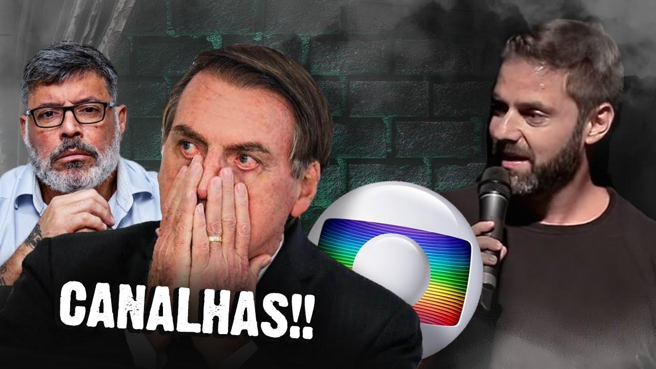 Fábio Rabin - Bolsonaro vs Globo, Frota, o Porteiro e seus filhos...