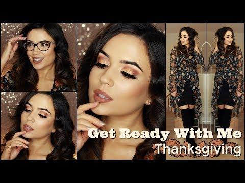 Thanksgiving Makeup Tutorial GRWM | TheMakeupChair