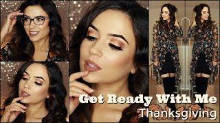 Thanksgiving Makeup Tutorial GRWM   TheMakeupChair